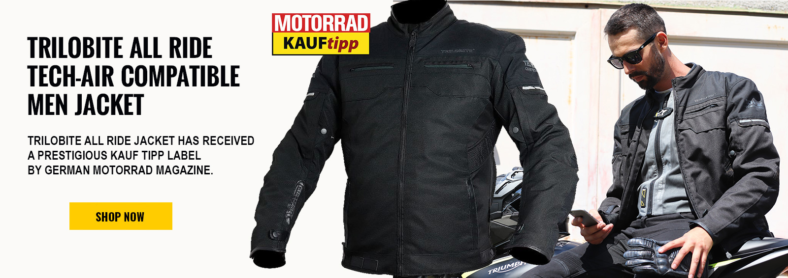 Trilobite All Ride jacket